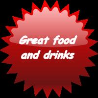 Food & drinks starburst
